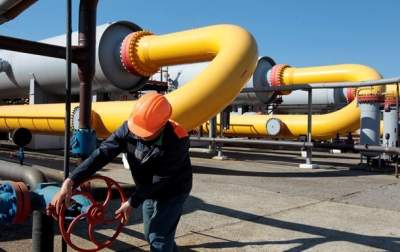 Транзит газа через Украину упал почти на 10%