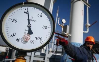Украина увеличила запасы газа в 1,7 раза