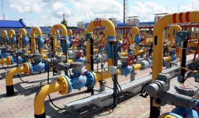 Украина почти наполовину заполнила газовые хранилища к зиме