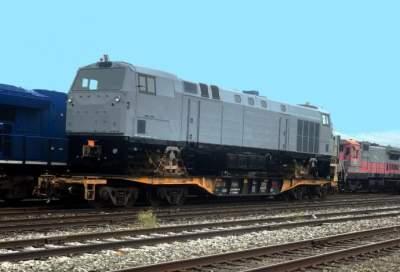 В Украину прибыл второй локомотив General Electric