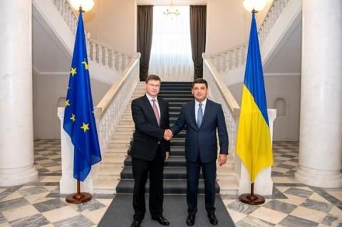 Украина и ЕС подписали соглашение о транше на €1 млрд