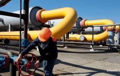 Украина снизила суточный объем закачки газа в хранилища