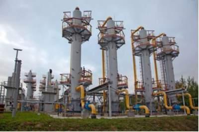 Украина начала использовать зимние запасы газа