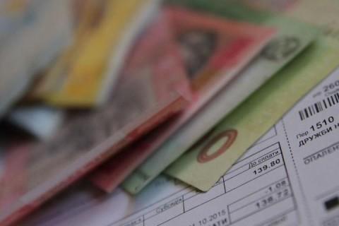 В Украине вновь возросли долги за коммунальные услуги