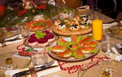 Новогодний стол в Украине подорожал на 20%