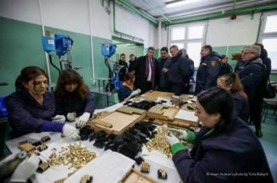 В Украине заработал завод по производству патронов