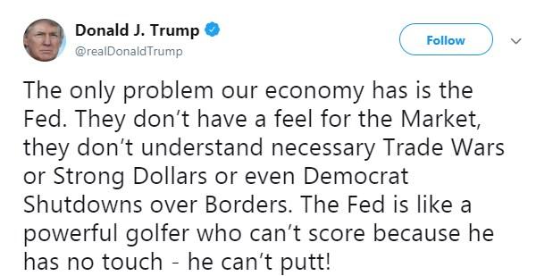 Трамп нашел виновных во всех бедах экономики США