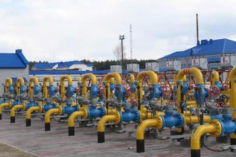 Украина использовала более половины газа из ПХГ