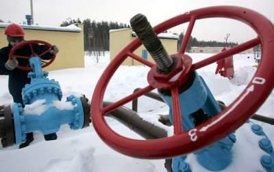 Украина истратила почти четверть запасов газа