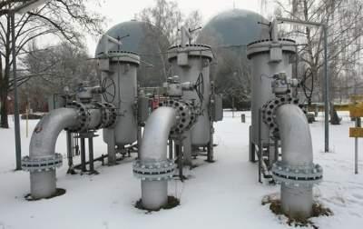 Запасы газа в хранилищах Украины сократились на 29%