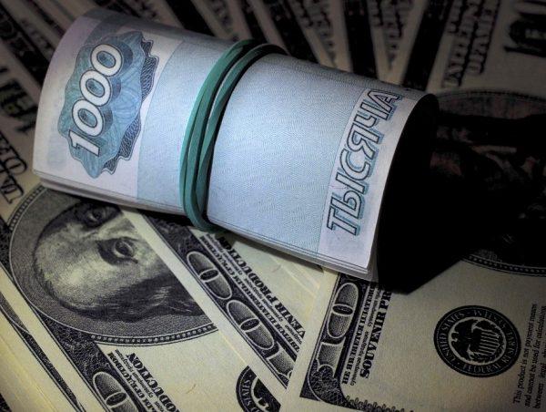 Расчет стоимости 1000 долларов к рублям