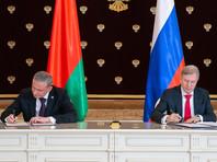 РФ и Белоруссия подписали соглашение о перевалке нефтепродуктов через российские порты